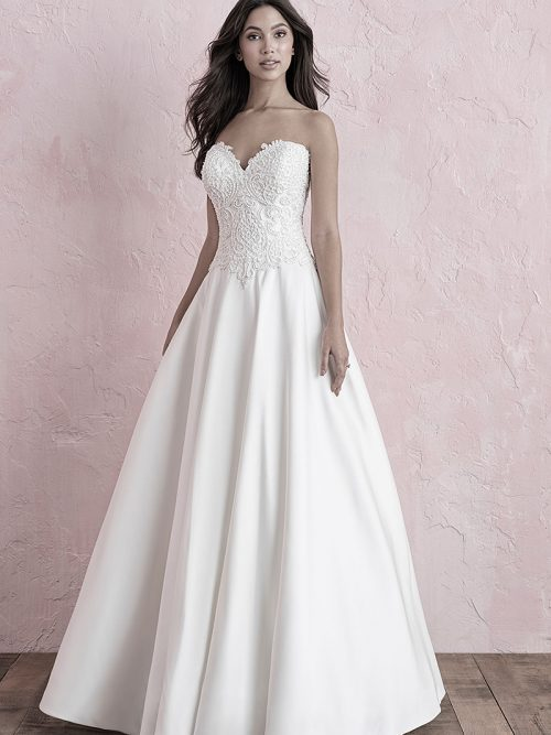 3261 Allure wedding Dress White