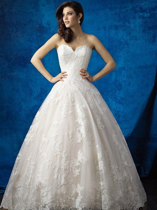 9353 Allure Bridals Wedding Dress