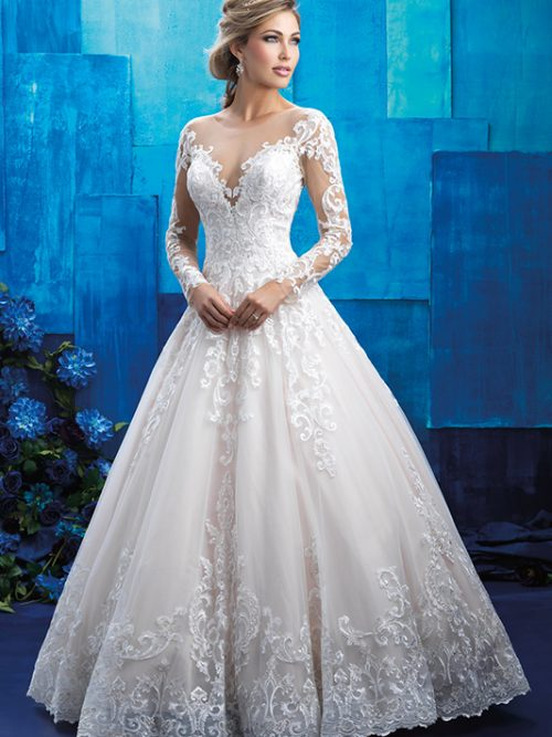 9411 Allure Wedding Dress
