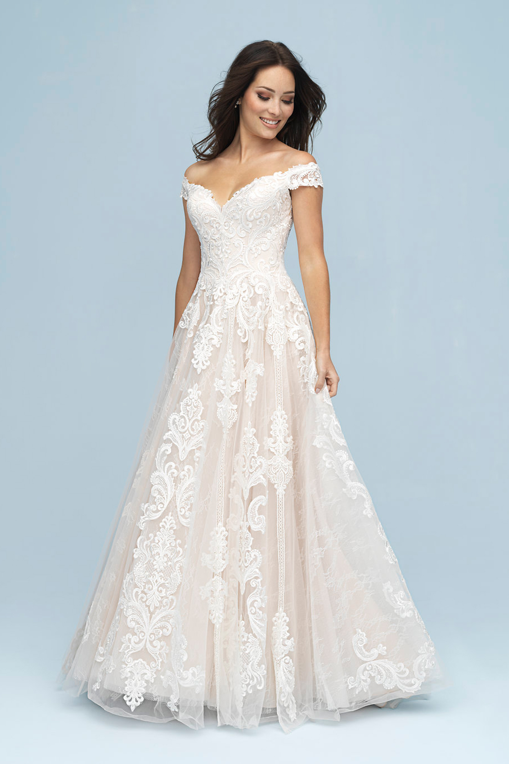 9619 9619 Allure Bridals Bridal Gown