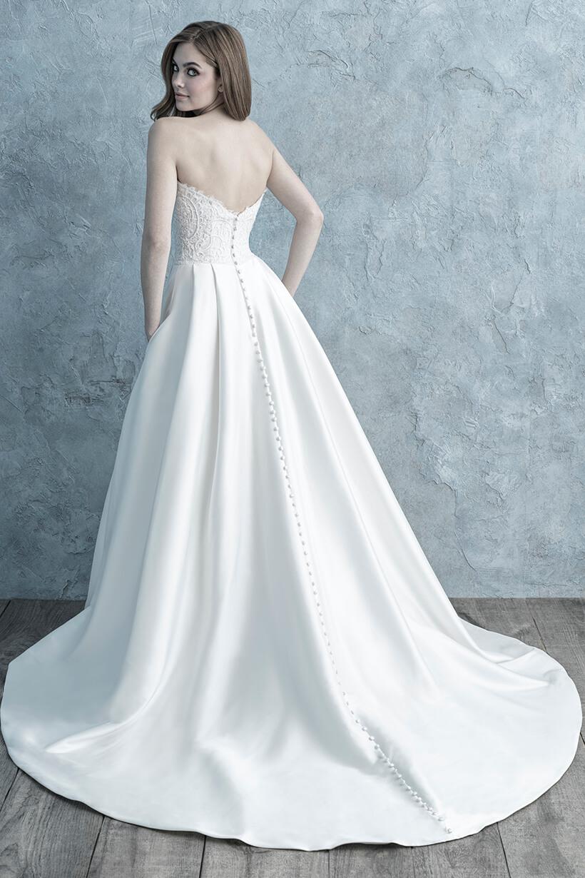 9677 Allure Bridals Elegant Wedding Dress
