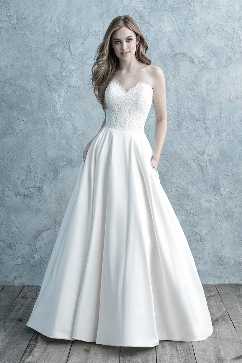9677 Allure Bridals Classic Ballgown