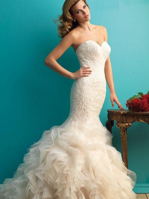 9254 Allure Bridals Bridal Gown