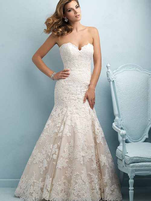 Allure Bridals 9215 Wedding Dess