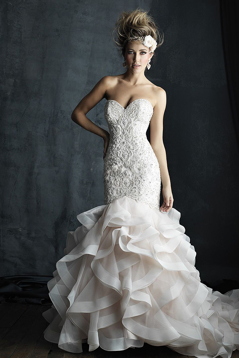 C389B Allure Couture Bridal Gown