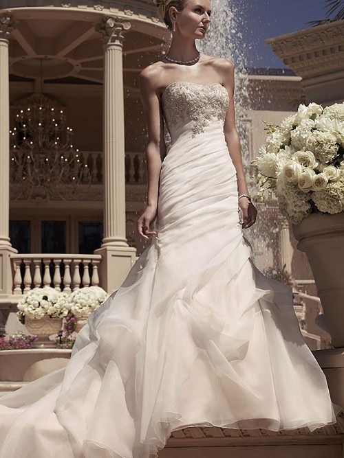 Casablanca Bridal 2107 Wedding Dress
