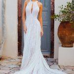 F167 Autum Wilderly Brides Princes Line Wedding Dress