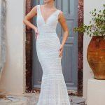F168 Iris Wilderly Bride Fit and Flare Wedding Dress