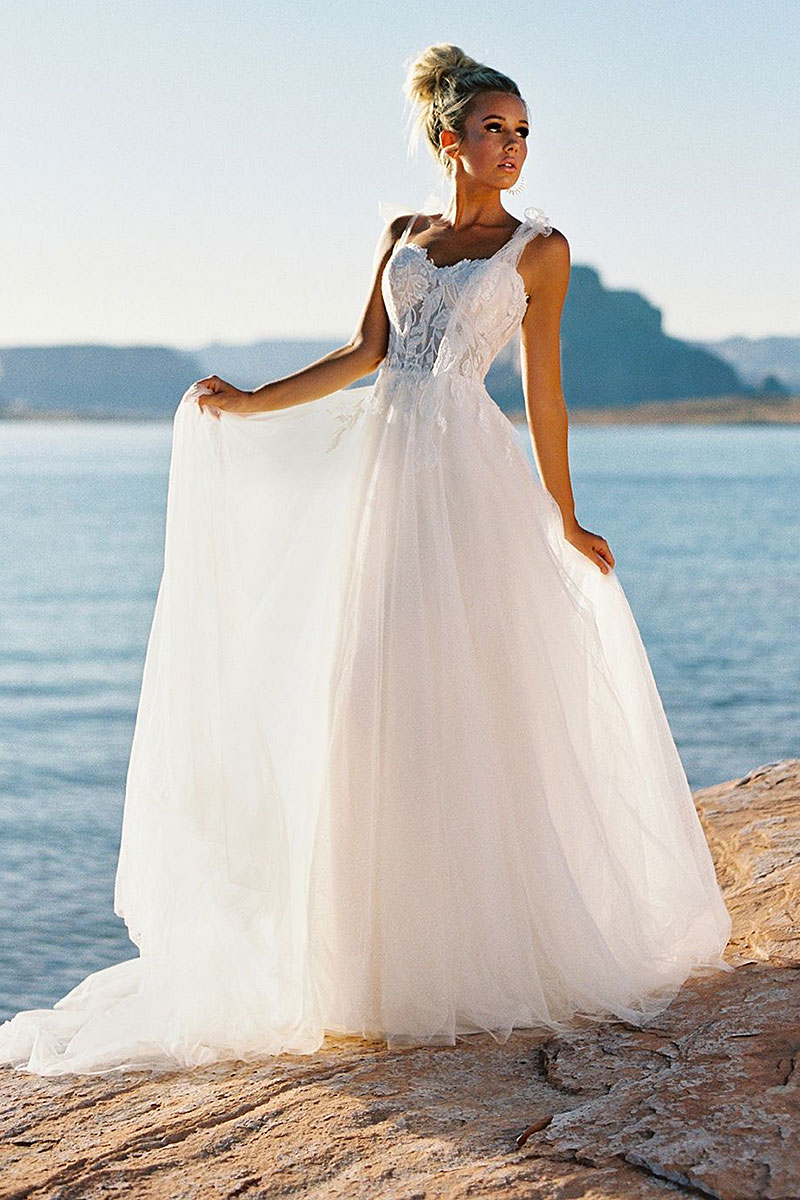 Classic Lines Bridal Gown
