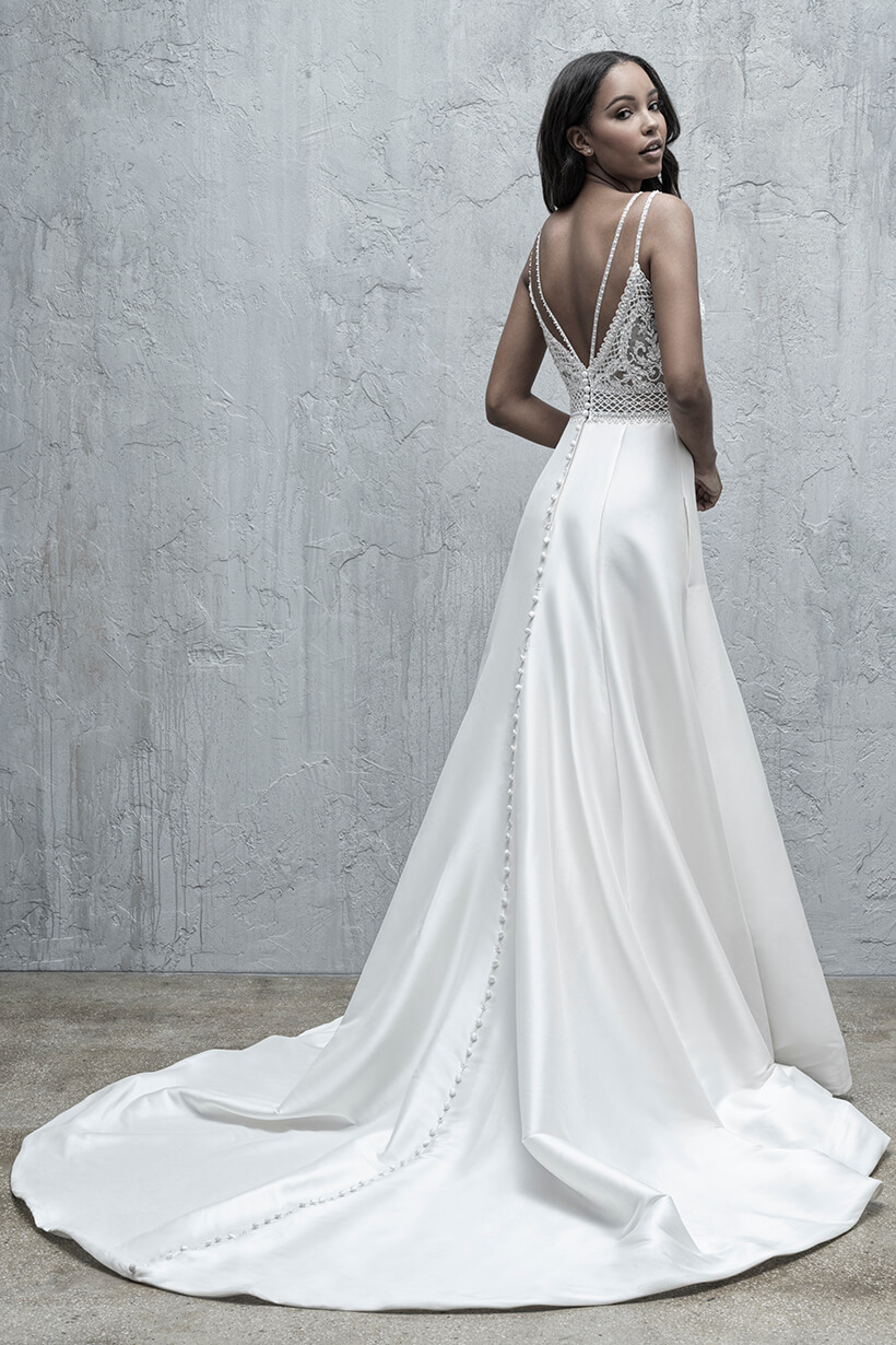 MJ571 Madison James Fit and FlareBridal Gown