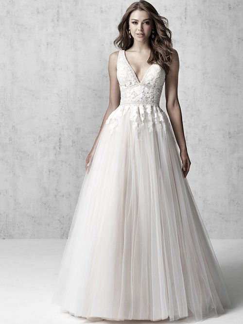 MJ621 madison James wedding dress