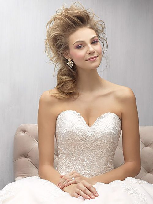 mj269b Madison James lace ballgown