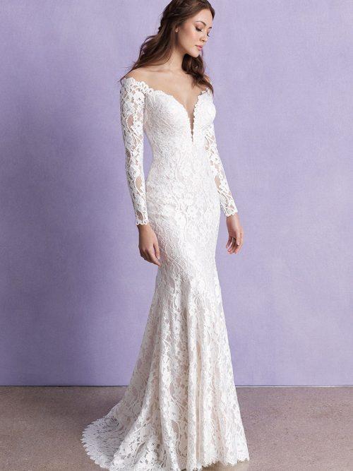 3366 Allure Romance Off Shoulder Bridal Gown