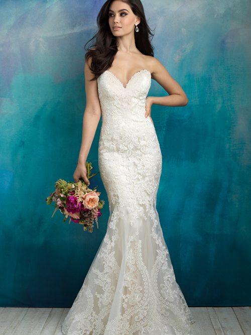 9516 Allure Bridals Wedding Dress
