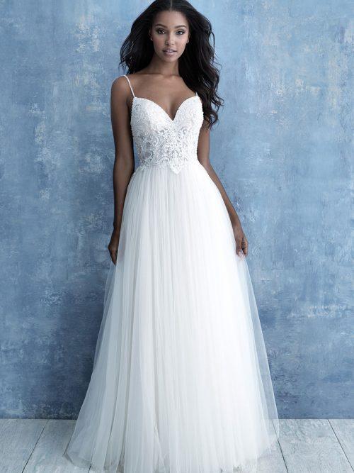 Allure Bridals A-line Wedding Dress 9722