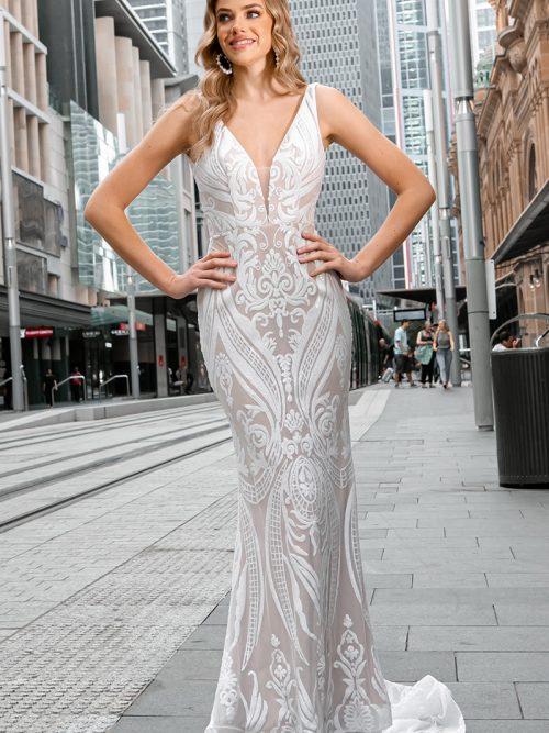Tina Holly Wedding Dress BA109