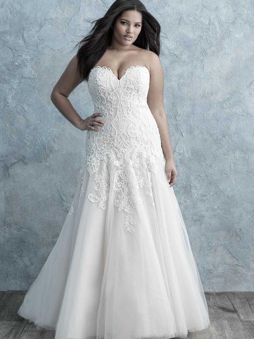 Allure Women Bridal Gown W455
