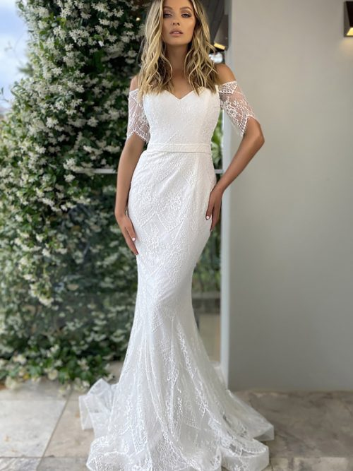 Sweet Heart Neckline Wedding Dress JX5054 Jadore