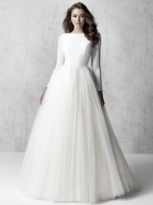Madison James Vintage-Inspired Wedding Dress MJ614