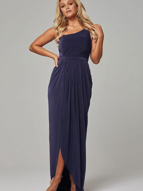 Teal Tania Olsen Bridesmaid dress